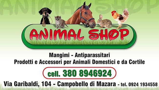 """[pubblicità] Campobello. Apre i battenti """"Animal shop"""""""