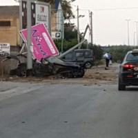 Campobello, gravissimo incidente  sulla via Mare
