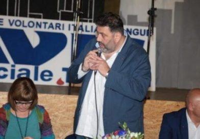L'appello del presidente provinciale Avis, Francesco Licata alla donazione del sangue