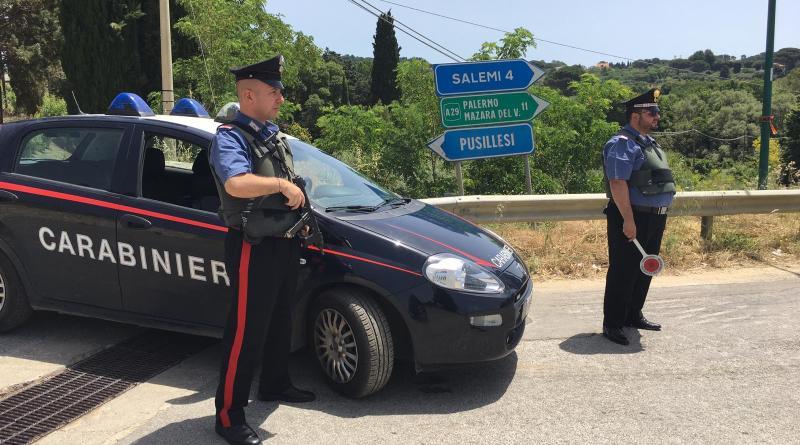 Salemi. I carabinieri aumentano i controlli del territorio: arrestato uno spacciatore