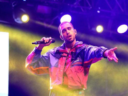 Mahmood sul palco