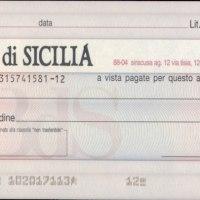 Campobello. Il lettore scrive: E' giusto pagare 8€ per cambiare un assegno bancario?