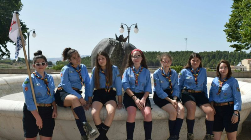 Santa Ninfa: Giovani scout puliscono la fontana di Cordio