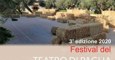 """Mazara. 3ª edizione 2020 """"Festival del Teatro di Paglia"""""""