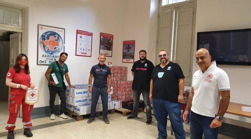 Trapani Comix: Chiusa la raccolta fondi benefica, donati alimenti alla Croce Rossa Italiana
