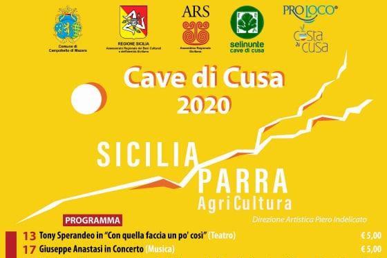 """Campobello. Al via la """"Sicilia Parra"""", musica e teatro al Baglio Florio delle Cave di Cusa"""