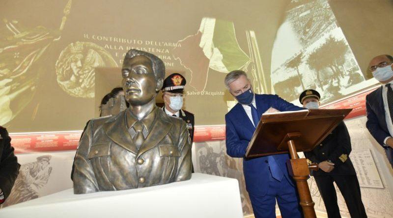 Celebrato il centenario della nascita ed il 77° anniversario del sacrificio della MOVM – V. Brigadiere Salvo D'Acquisto