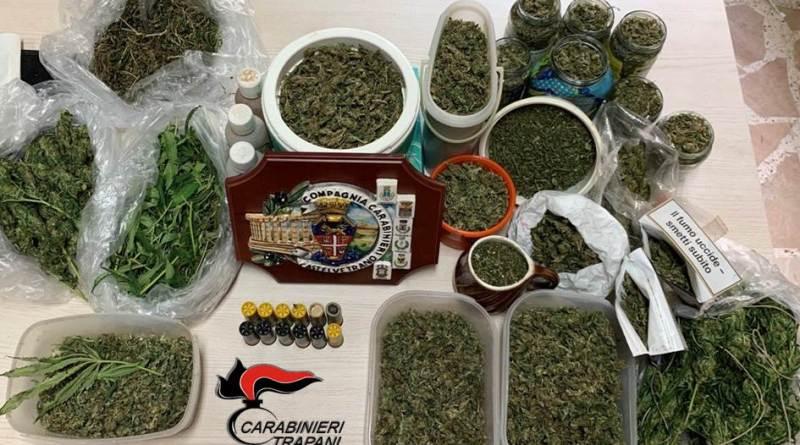 Castelvetrano. Trovato in casa con armi e droga: arrestato meccanico castelvetranese 53enne