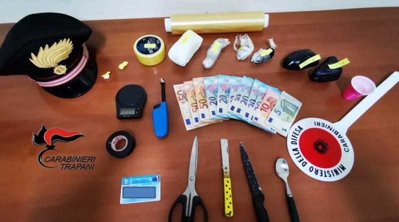 Trapani. In possesso di 460 grammi di cocaina pura: arrestato 42enne pacecoto