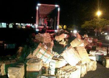 c18463a4bdd Caminhoneiro de MT é preso com três toneladas de maconha em SP