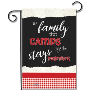 Campsite Flag A Family That Camps Together Stays Together