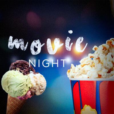 Ice Cream Social & Movie Night