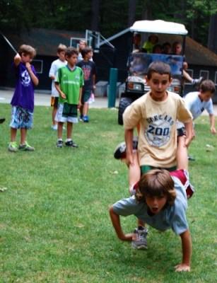 Camp Takajo Whacked-Up Relay