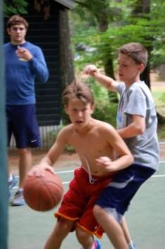 JR Basketball at Camp Takajo