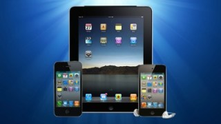 iOS devices for the Camp Takajo app