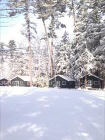 Camp Takajo- Winter on JR Quad