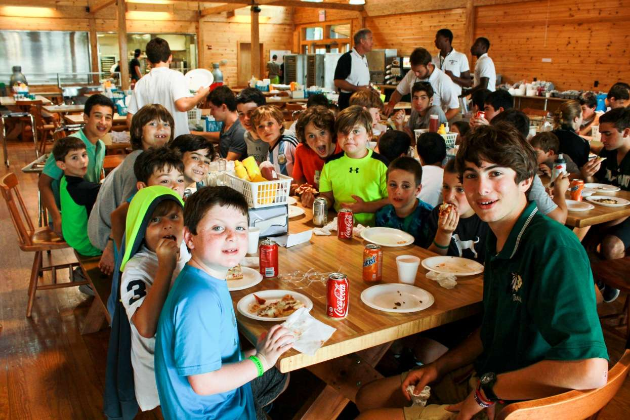 Camp Takajo Rookie Day campers 2014