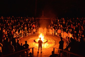 Camp Takajo for Boys in Maine 08_12_2015_N_Final_Closing_Indian_Council_Fire_031