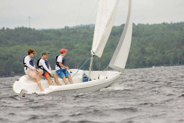 2016 Sailing Regatta at Camp Takajo for Boys in Naples, Maine.