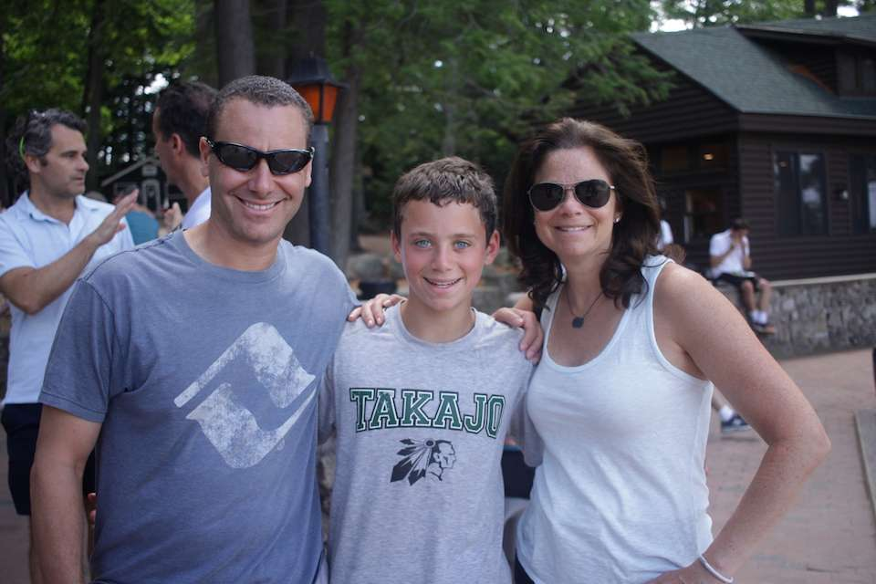 Visiting Day at Camp Takajo for Boys in Naples, Maine.