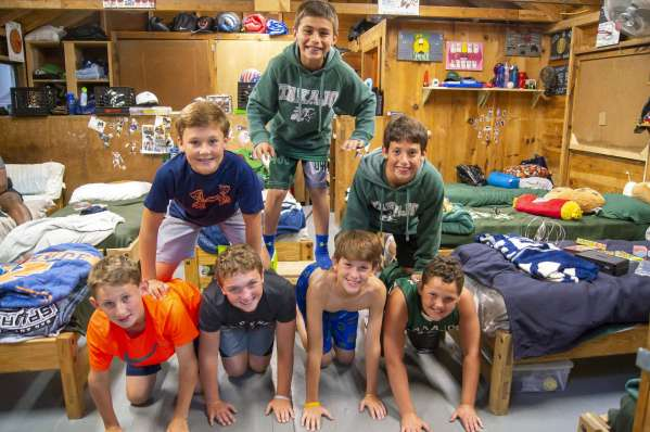 Junior Campers Bunk 2018 Camp Takajo