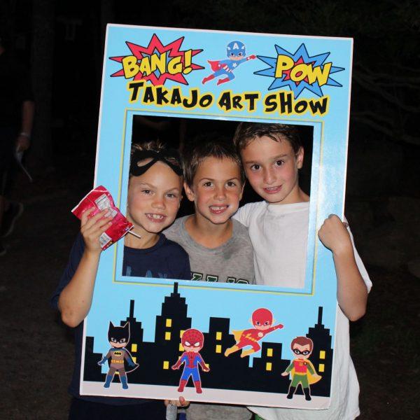 Camp Takajo Art Show 2018
