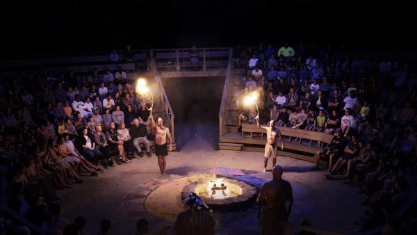 Camp Takajo Council Fire