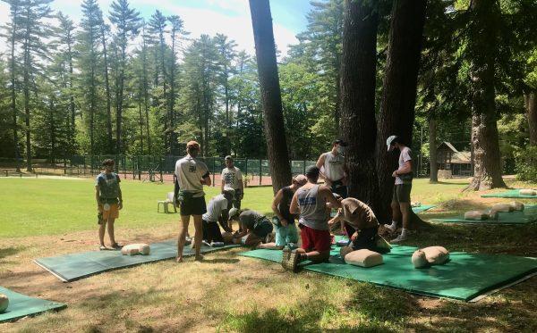 Lifeguard Training at Camp Takajo