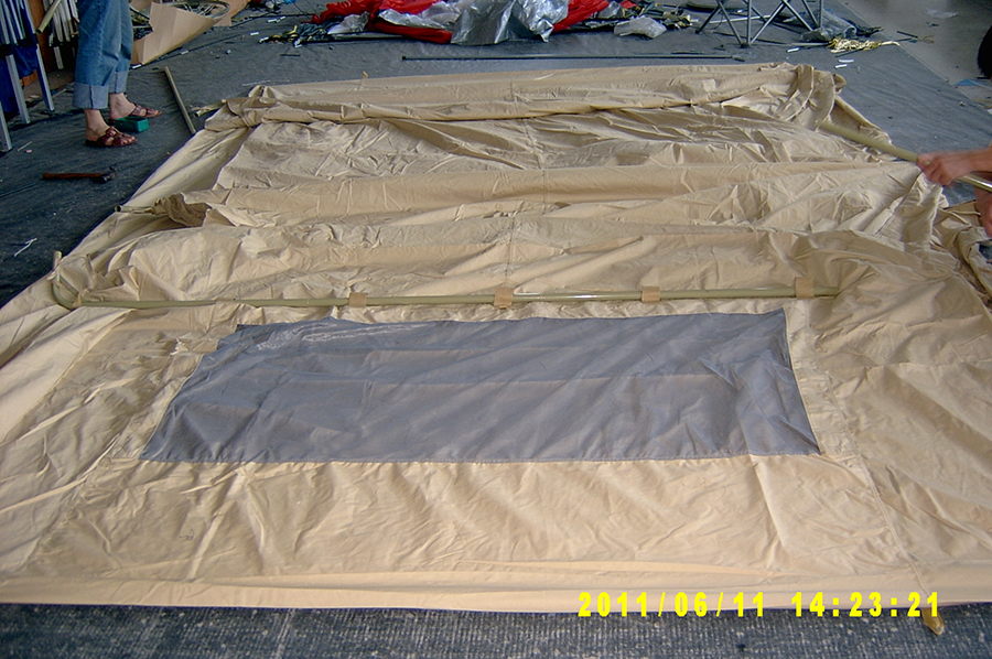 Screen Floor Tent Pop