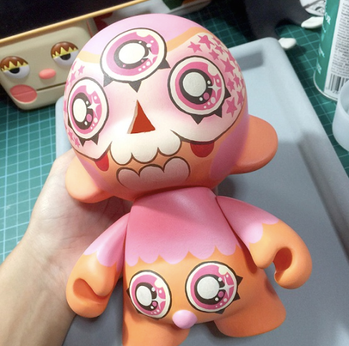 Munnies - (images credited to Singapore Toy Game & Comic Convention STGCC 2015)