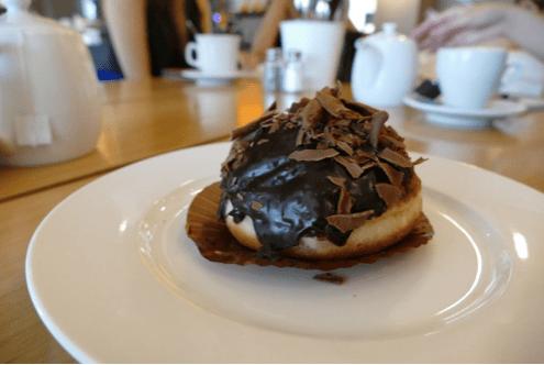 Chocolate Truffle Doughnut - $5.50