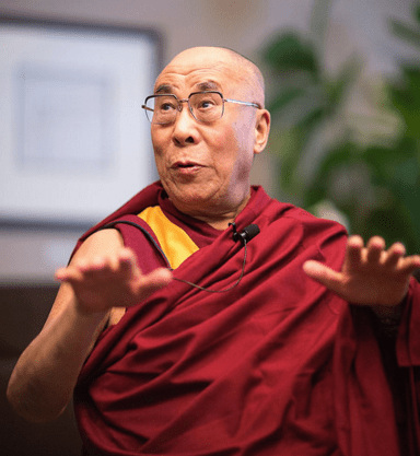 Dalai Lama shocked