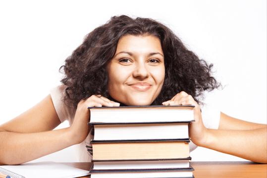student books study