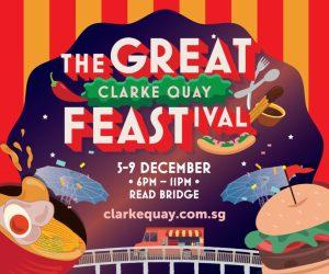 The Great Clarke Quay FEASTival @ Clarke Quay, Read Bridge