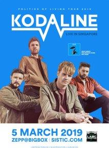 Kodaline - Live in Singapore @ ZEPP@BIGBOX Singapore