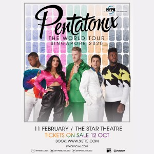 Pentatonix – The World Tour Singapore 2020 @ The Star Theatre