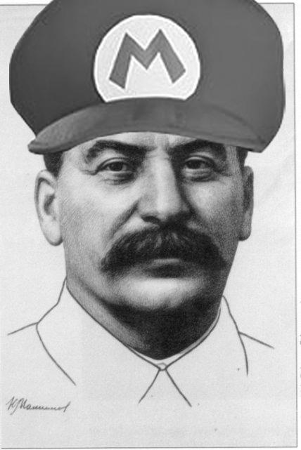 Joseph Stalin Circa 1934 Campus Basement