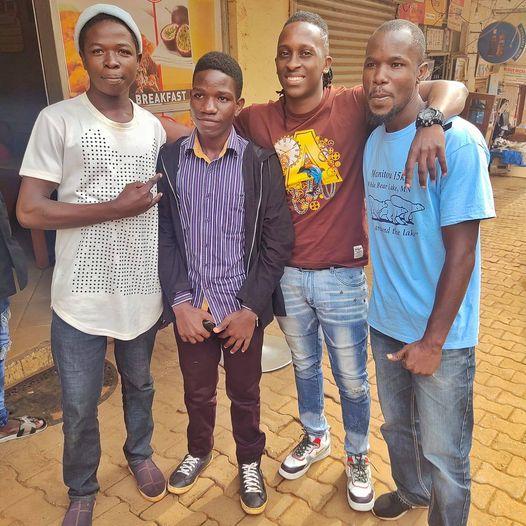 Bawunya Dancers with Bruno K