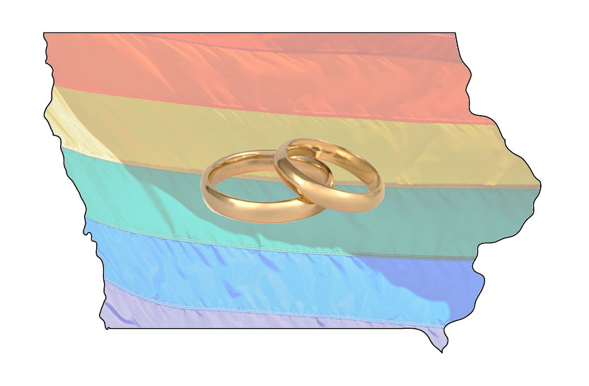 Same sex marriage legal in iowa