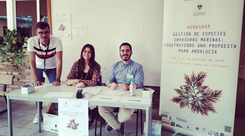 El Aula del Mar CEI·Mar de la UGR coordina un taller sobre especies invasoras en el litoral andaluz