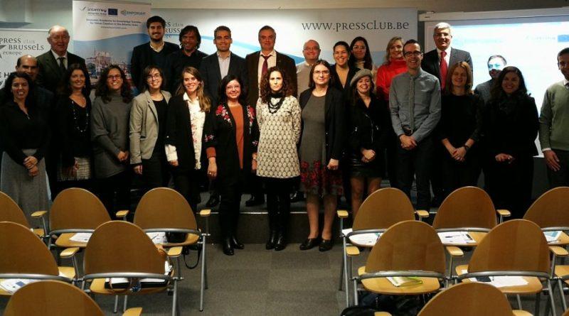 Representantes de CEI·Mar debaten en Bruselas sobre Economía Azul