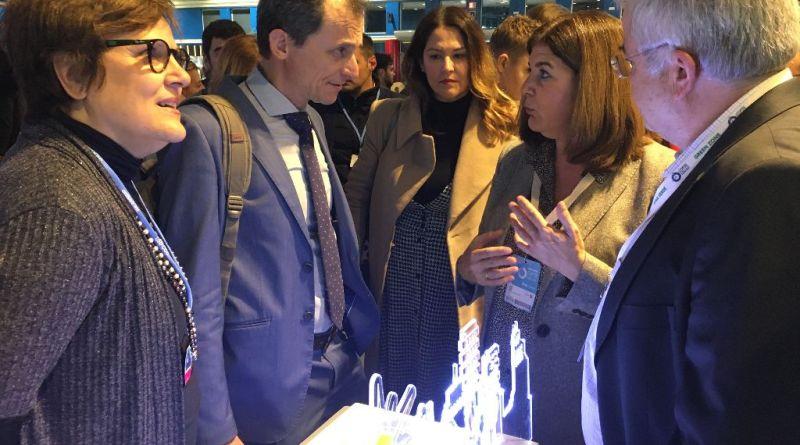 El ministro Pedro Duque felicita la trayectoria de CEI·Mar en la COP25