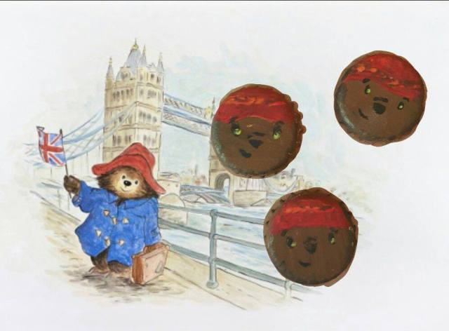 Paddington bear bottle tops workshop