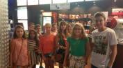 En el cine de plaza mayor para ver Pixels por la tarde. In the cinemas in Plaza Mayor to see Pixels in the evening