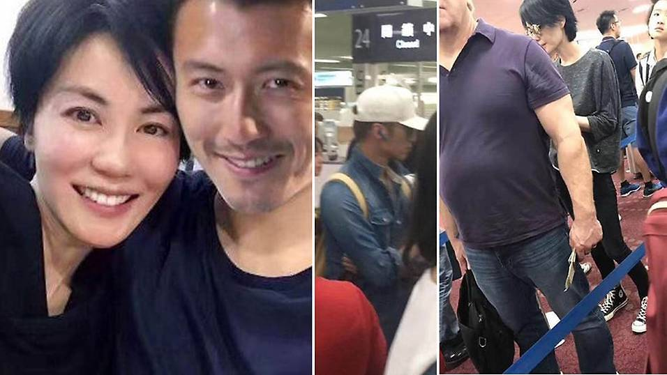Faye Wong And Nicholas Tse Spotted In Japan Campus Rock