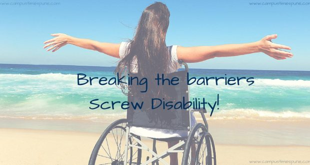 Happy-girl-on-wheelchair-breaking-barriers-campustimespune-disability-special