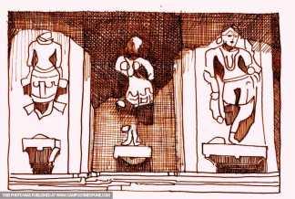 sculptures-brown-pencil-sketch