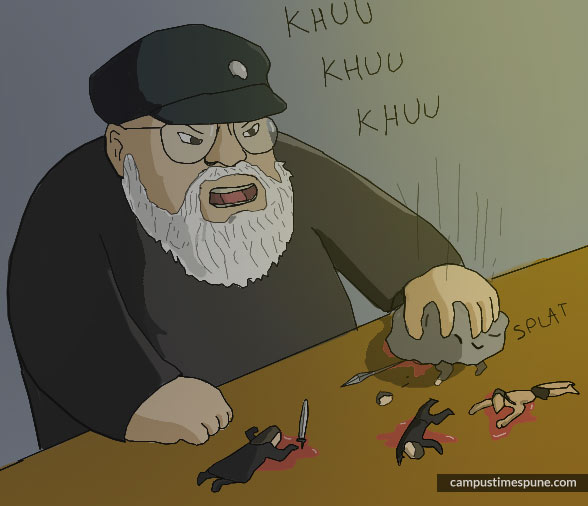 GRRM Cartoon