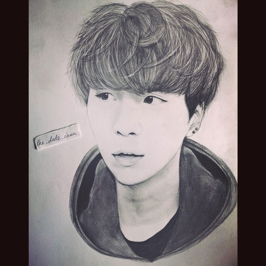 6 Life Like Sketches Of Korean Singers by Deeya Chaturvedi : korean artist sketch1 from www.campustimespune.com size 900 x 900 jpeg 149kB