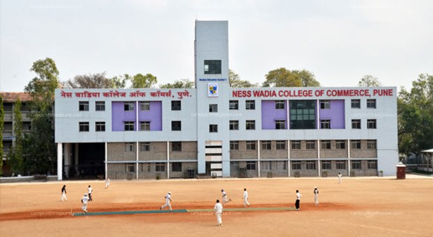 Ness Wadia College of Commerce Campus Building and Ground